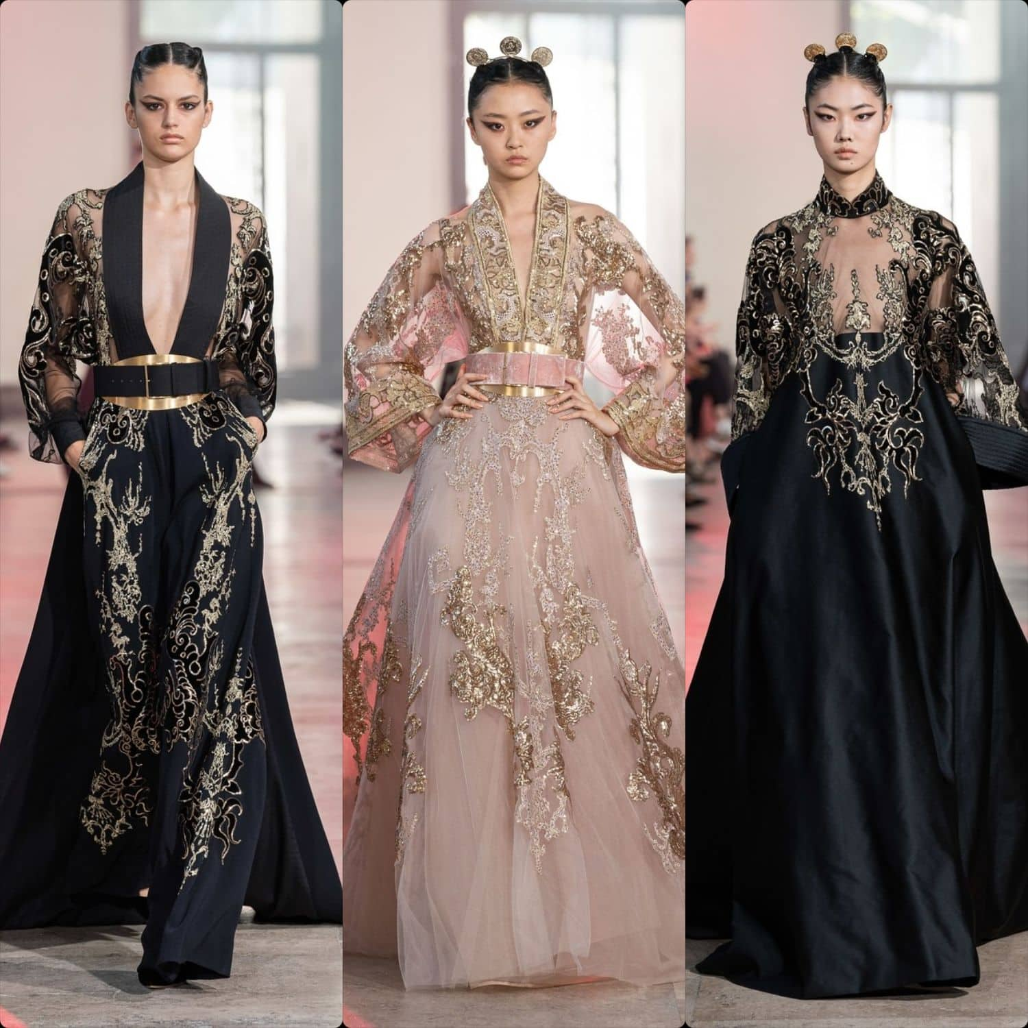 "Elie Saab Haute Couture Fall-Winter 2019-2020. First ""Chinese"" collection. RUNWAY MAGAZINE ® Collections"