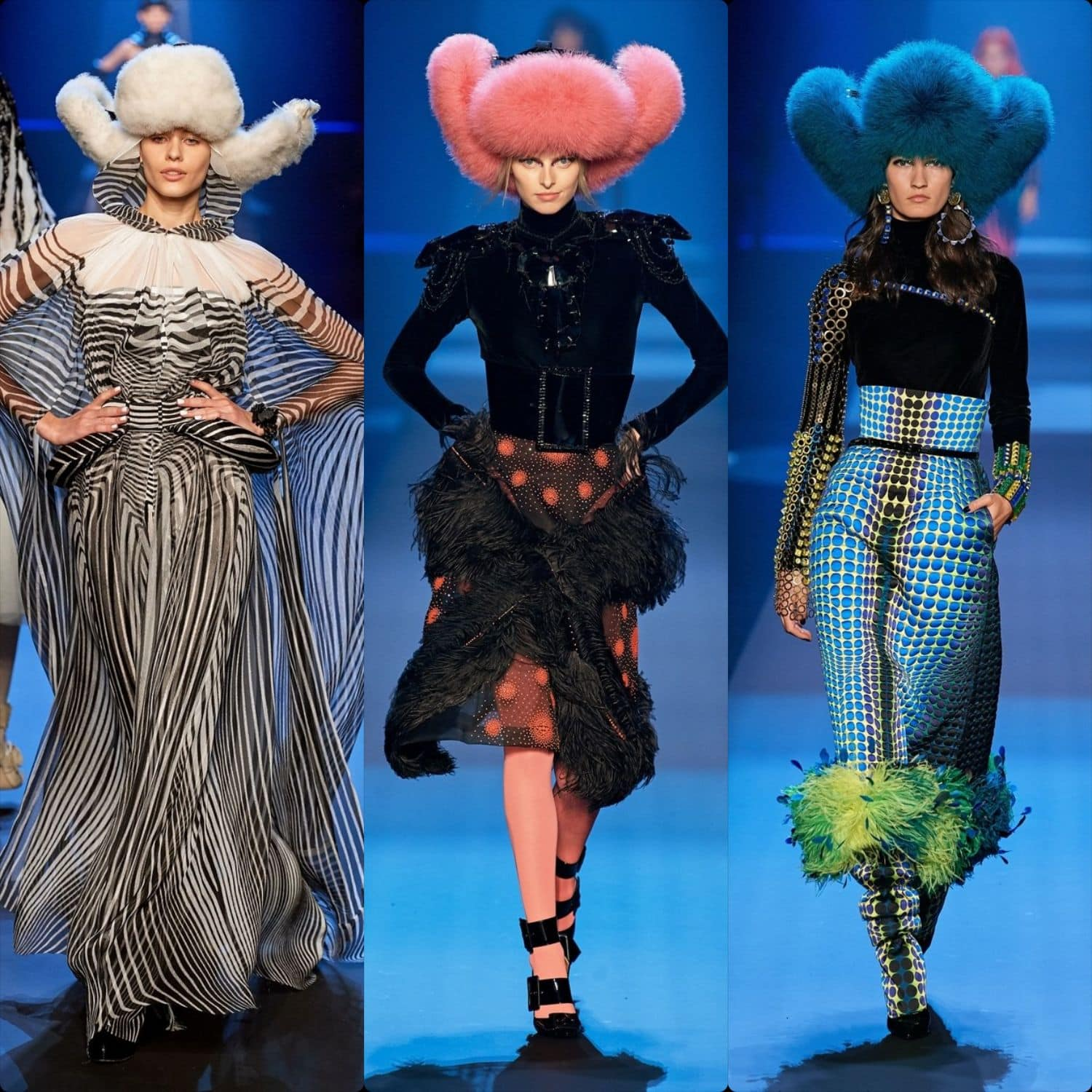Jean Paul Gaultier Haute Couture Fall-Winter 2019-2020. RUNWAY MAGAZINE ® Collections