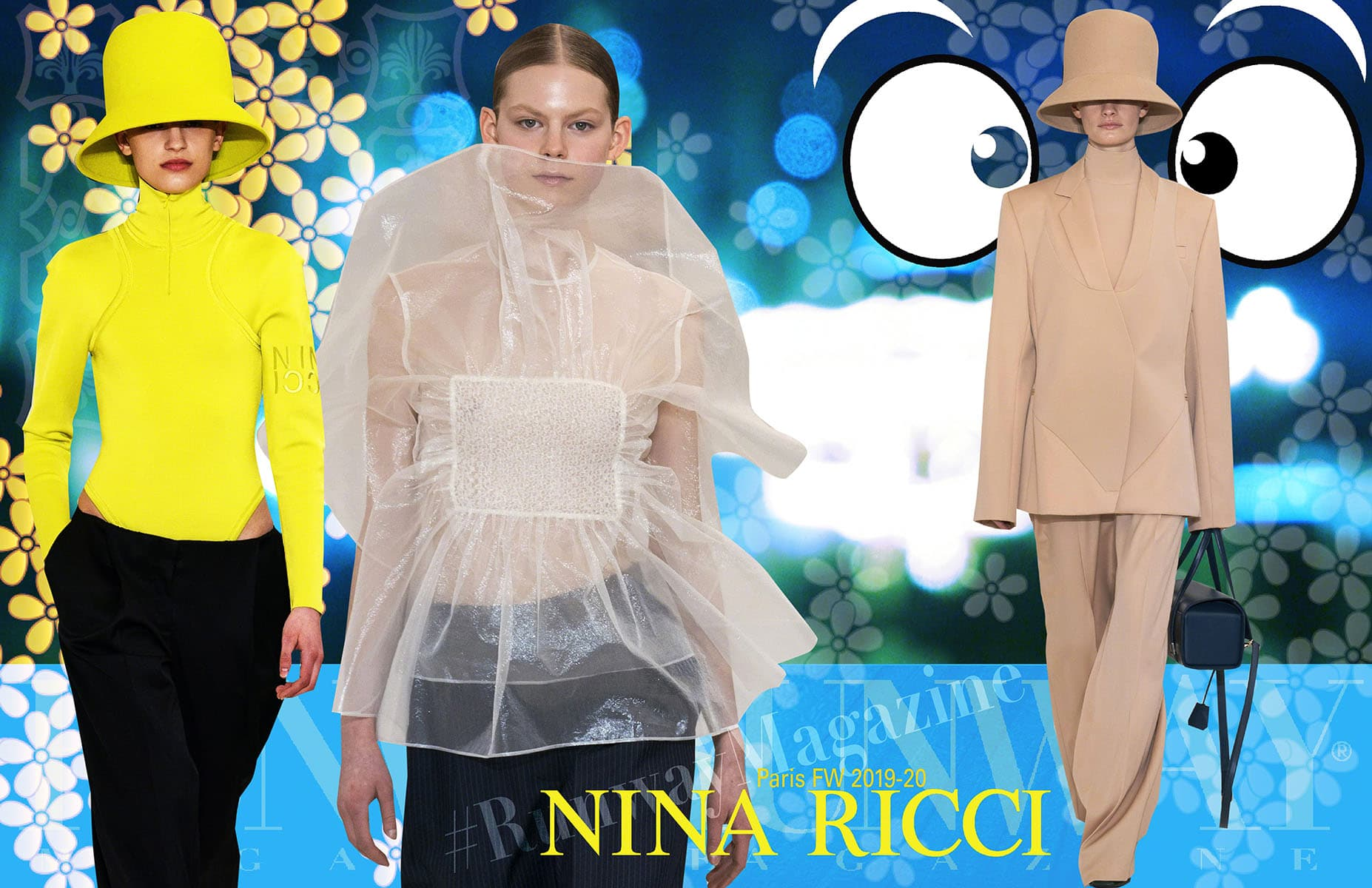 Nina Ricci-Fall Winter 2019-2020 Paris Fashion Week by Runway Magazine