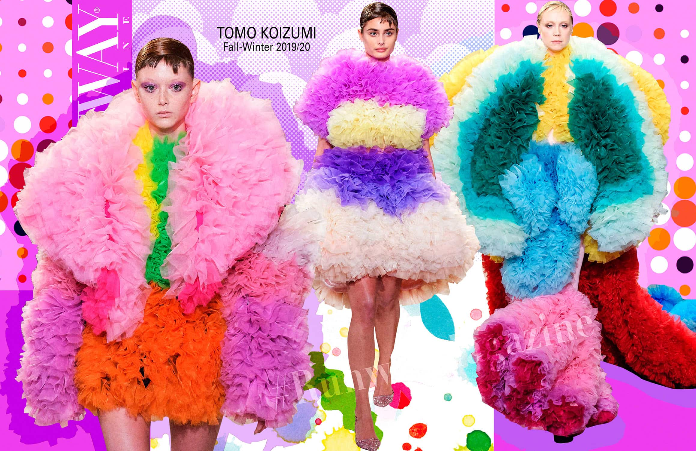 Tomo Koizumi Fall-Winter 2019-2020 New York by RUNWAY MAGAZINE
