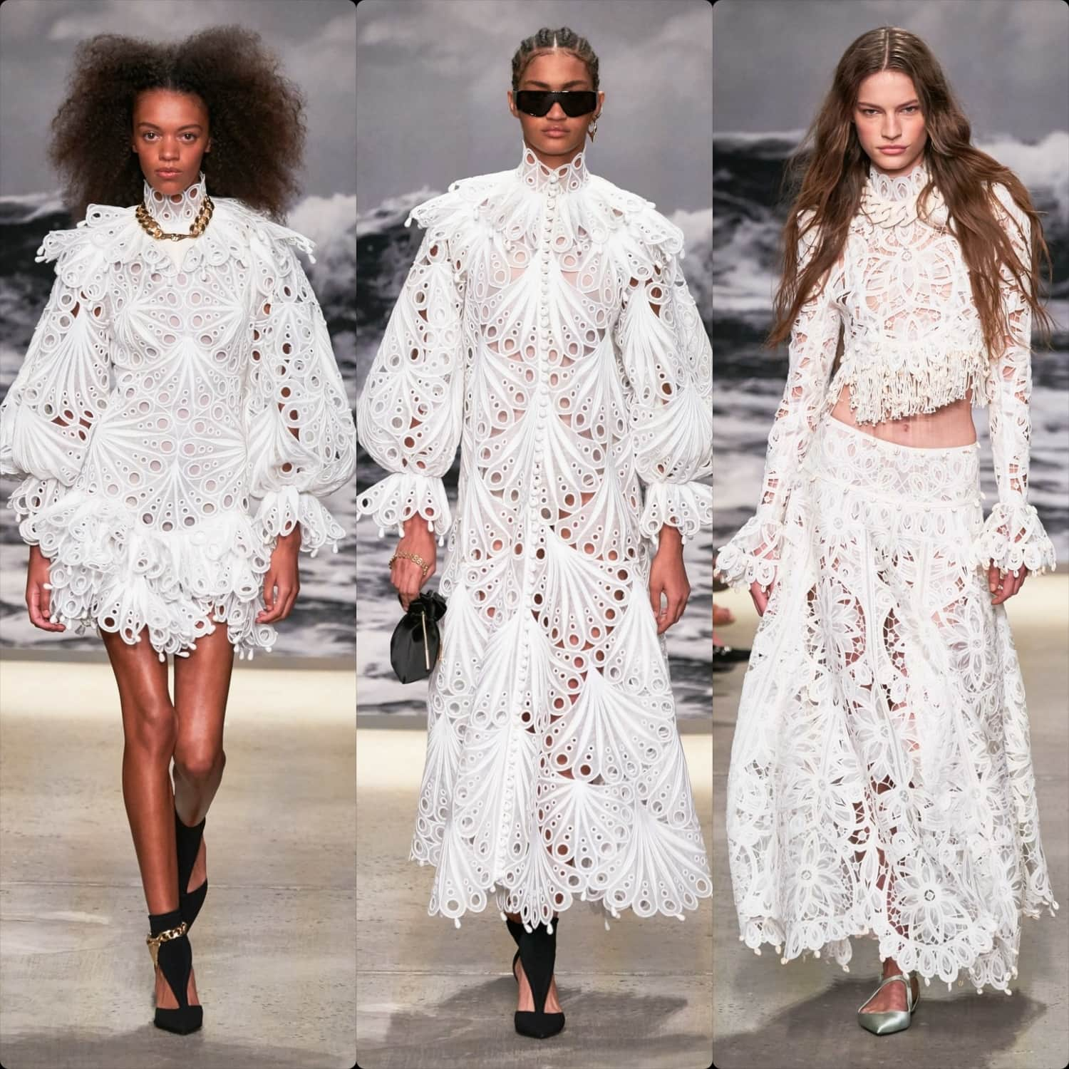 Zimmermann Spring Summer 2020 New York. RUNWAY MAGAZINE ® Collections. Photo: Alessandro Lucioni / Gorunway.com