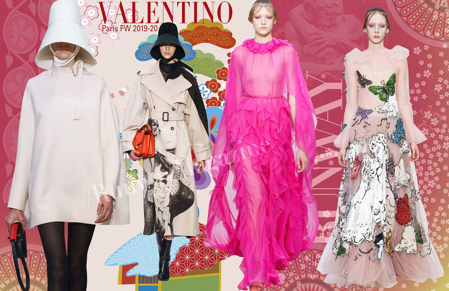 Valentino Fall-Winter 2019-2020 Paris by RUNWAY MAGAZINE