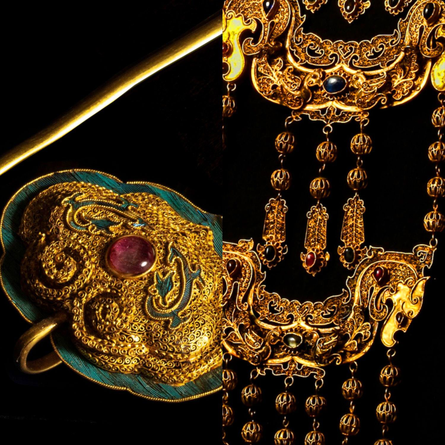 Renaissance of Chinese Imperial jewelry by RUNWAY MAGAZINE