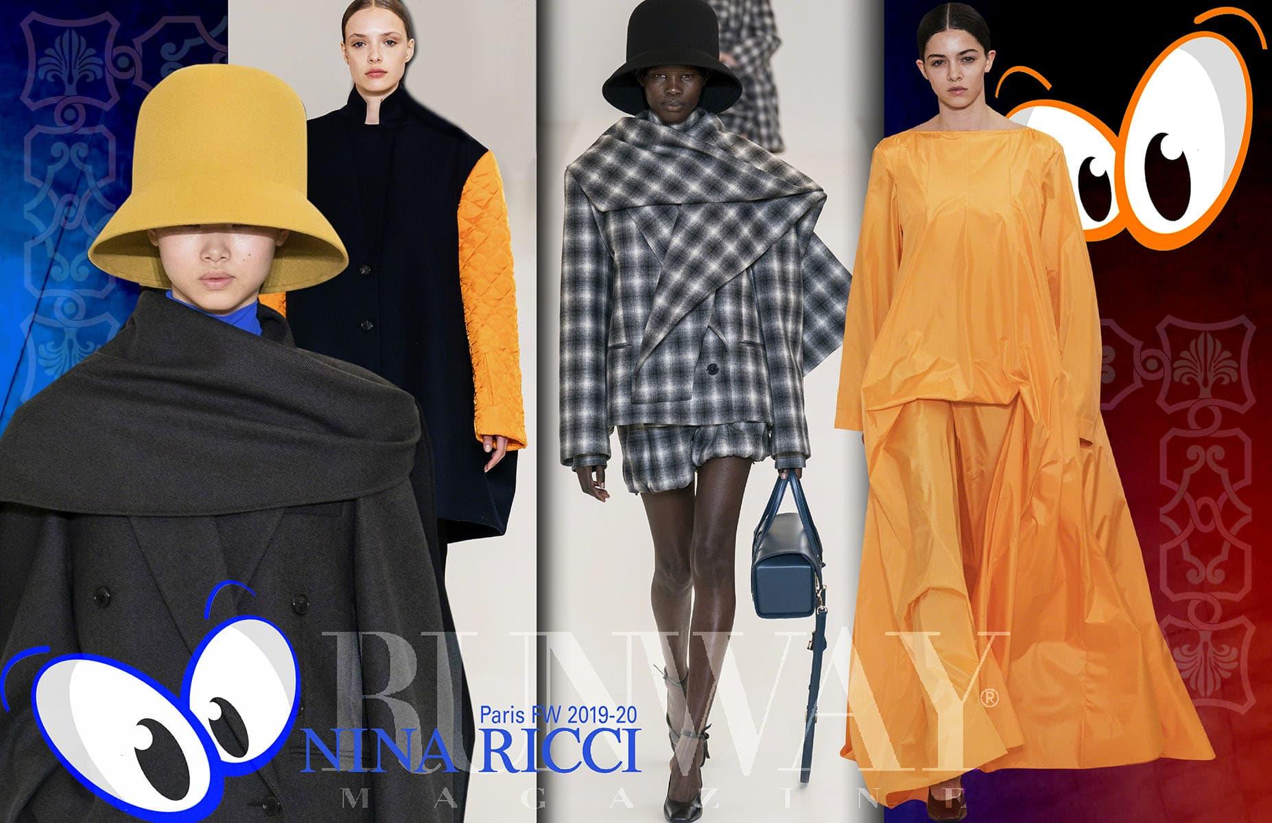 Nina Ricci-Fall Winter 2019-2020 Paris Fashion Week by Runway Magazine