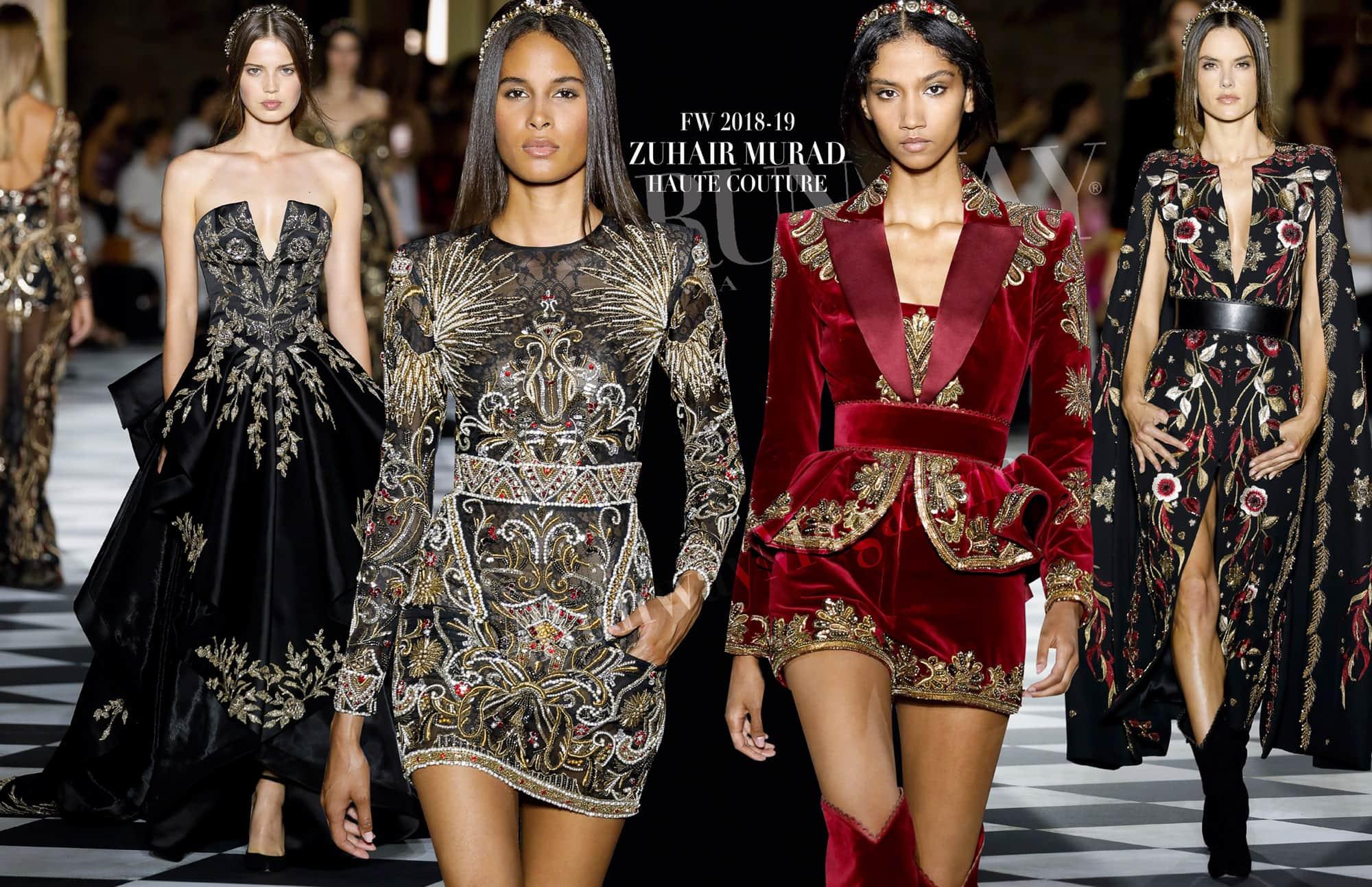 Zuhair Murad Haute Couture Fall-Winter 2018-2019 by RUNWAY MAGAZINE