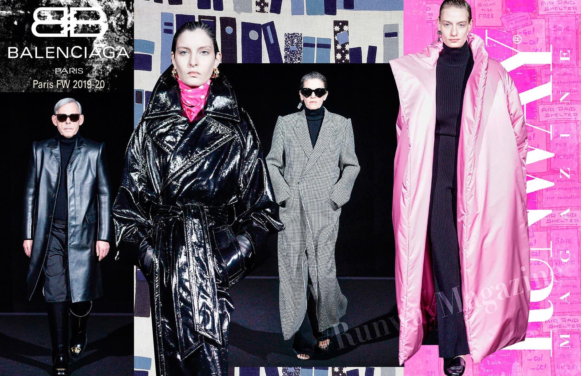 Balenciaga Autunno Inverno 2019-2020 Parigi di RUNWAY MAGAZINE