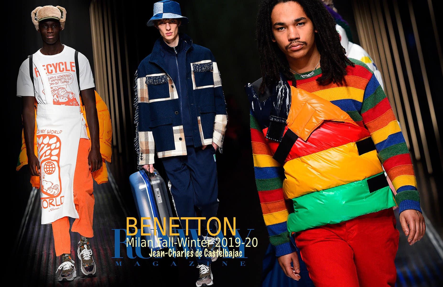 Benetton Fall Winter 2019-2020 Milan by RUNWAY MAGAZINE