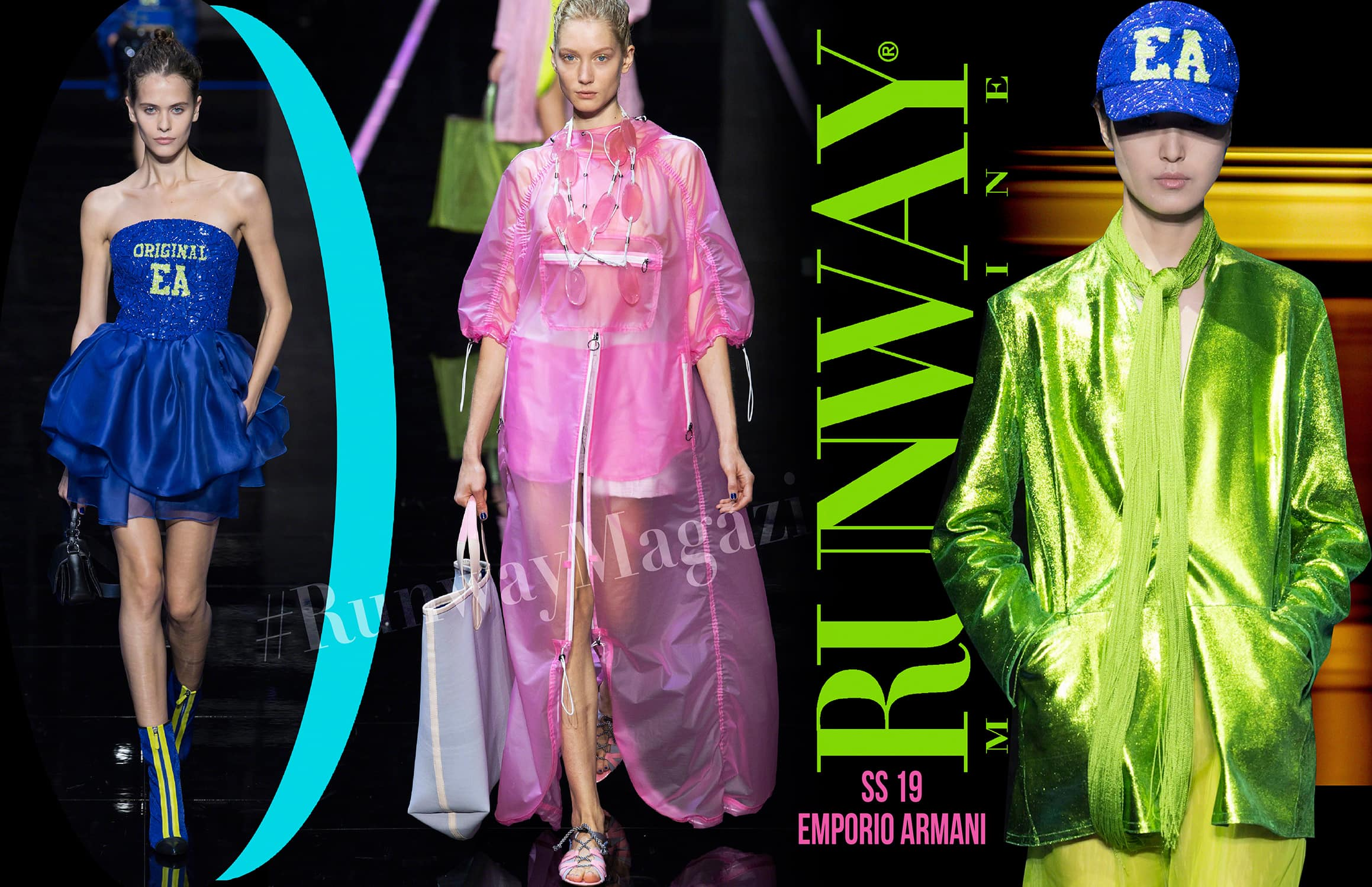 Emporio Armani Spring Summer 2019 Milan by RUNWAY MAGAZINE