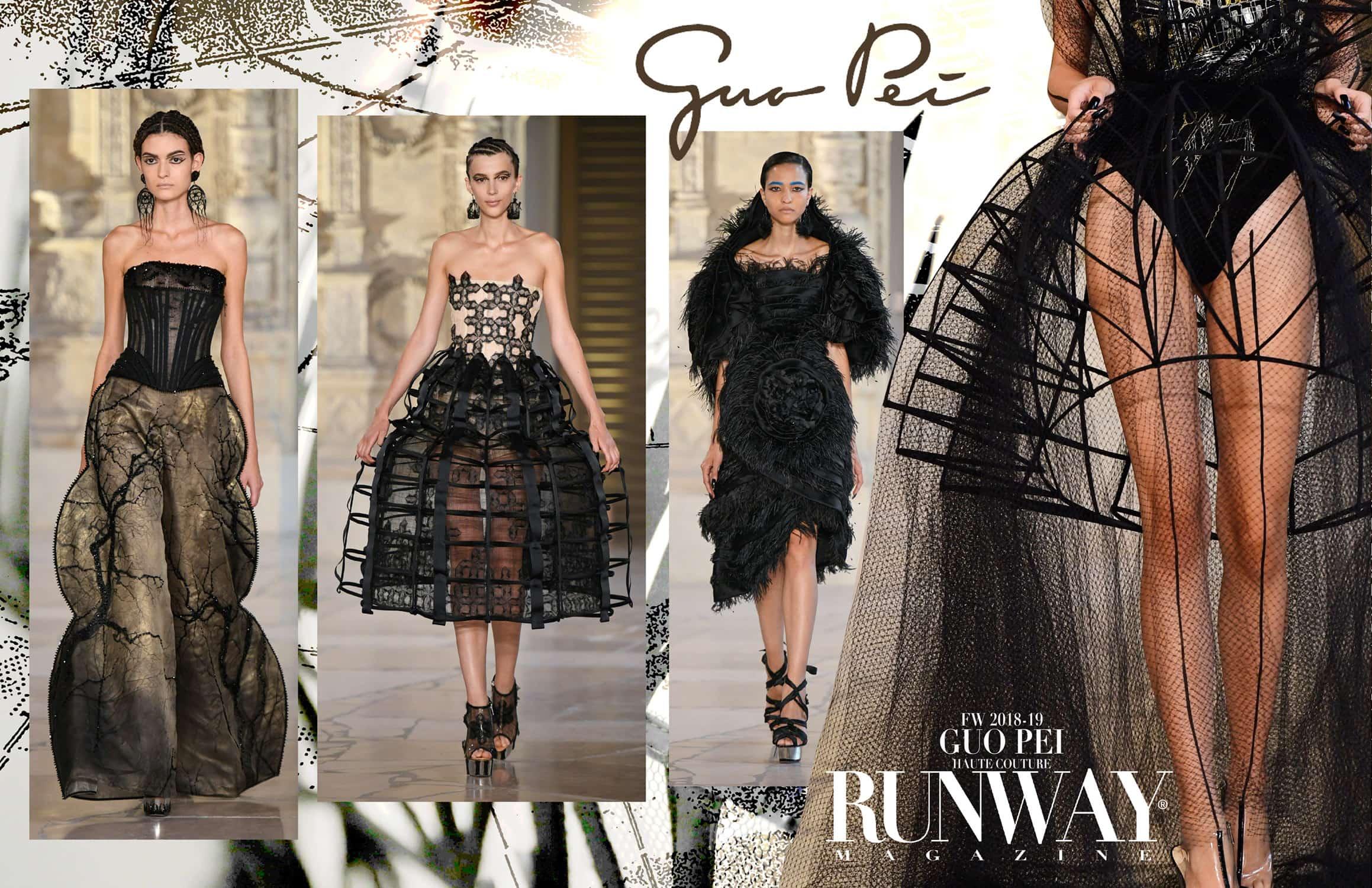 Guo Pei Haute Couture Fall-Winter 2018-19 by RUNWAY MAGAZINE