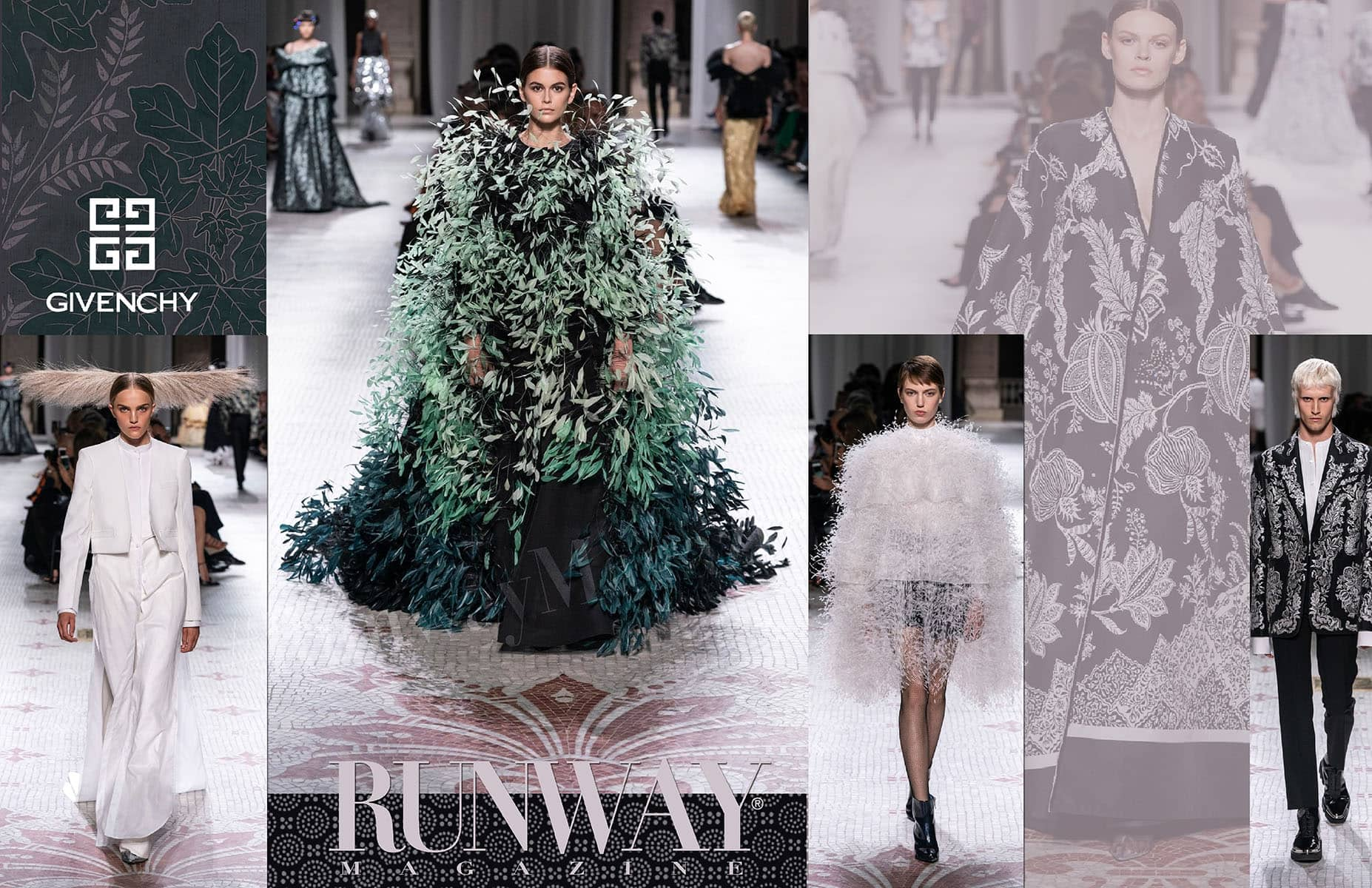 Givenchy Haute Couture Fall-Winter 2019-2020 Paris by RUNWAY MAGAZINE