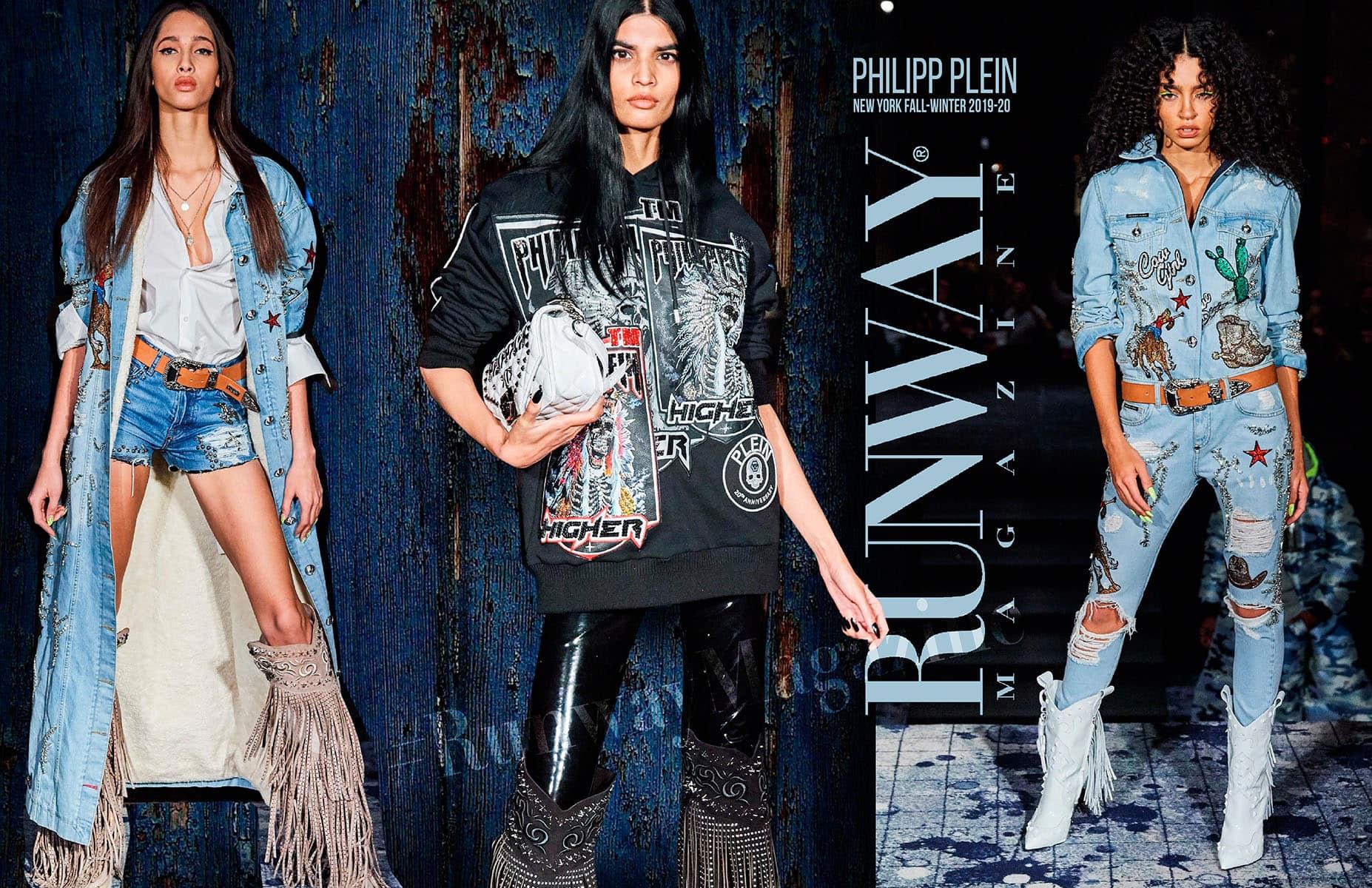 Philipp Plein Fall Winter 2019-2020 New York by RUNWAY MAGAZINE