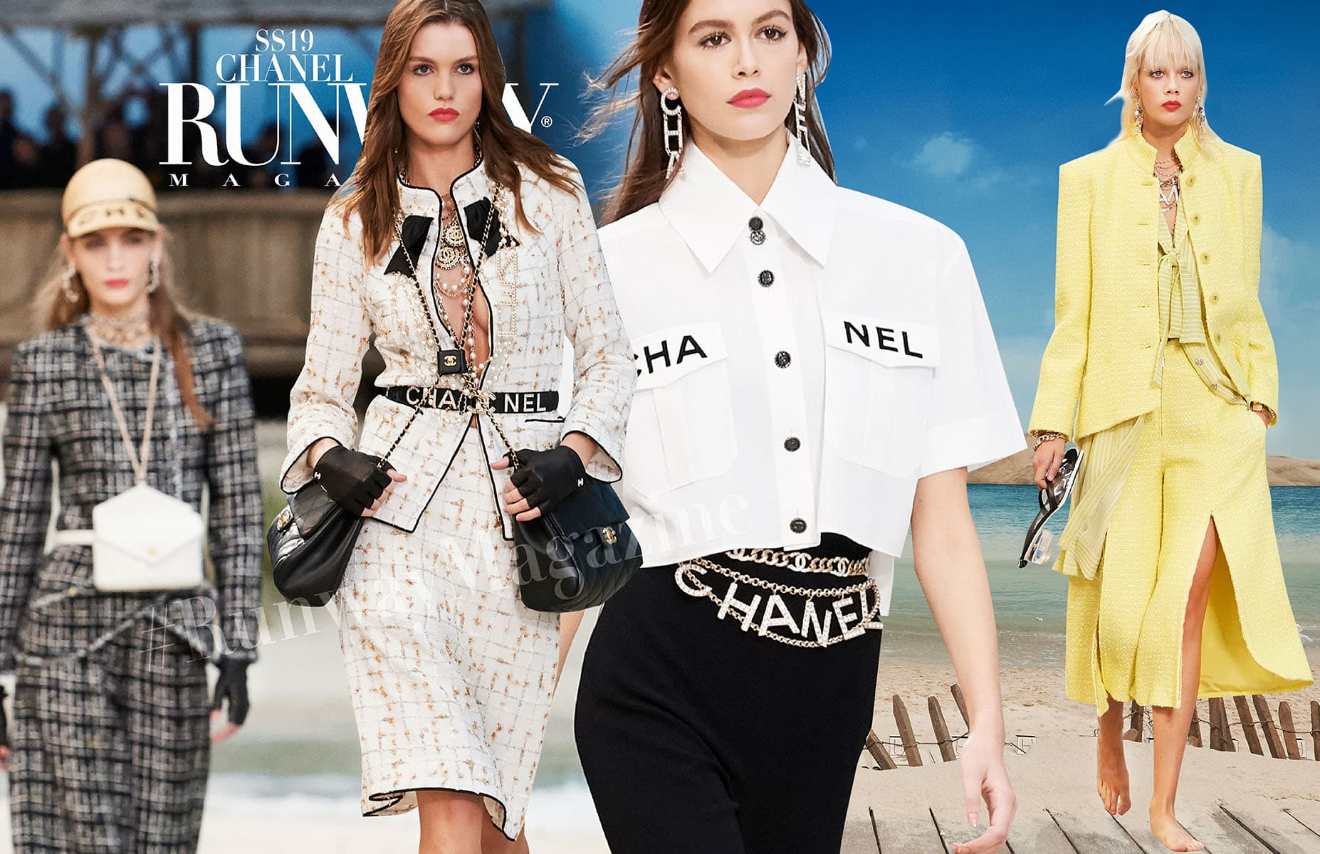 Chanel Spring Summer 2019 Paris Fashion Week by Runway Magazine