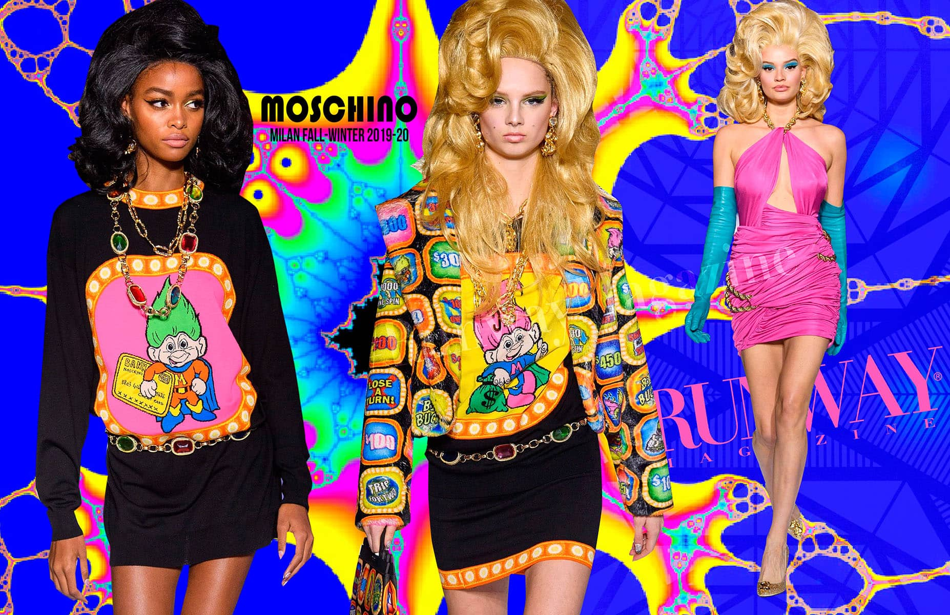 Moschino Fall-Winter 2019-2020 Milan Runway Magazine