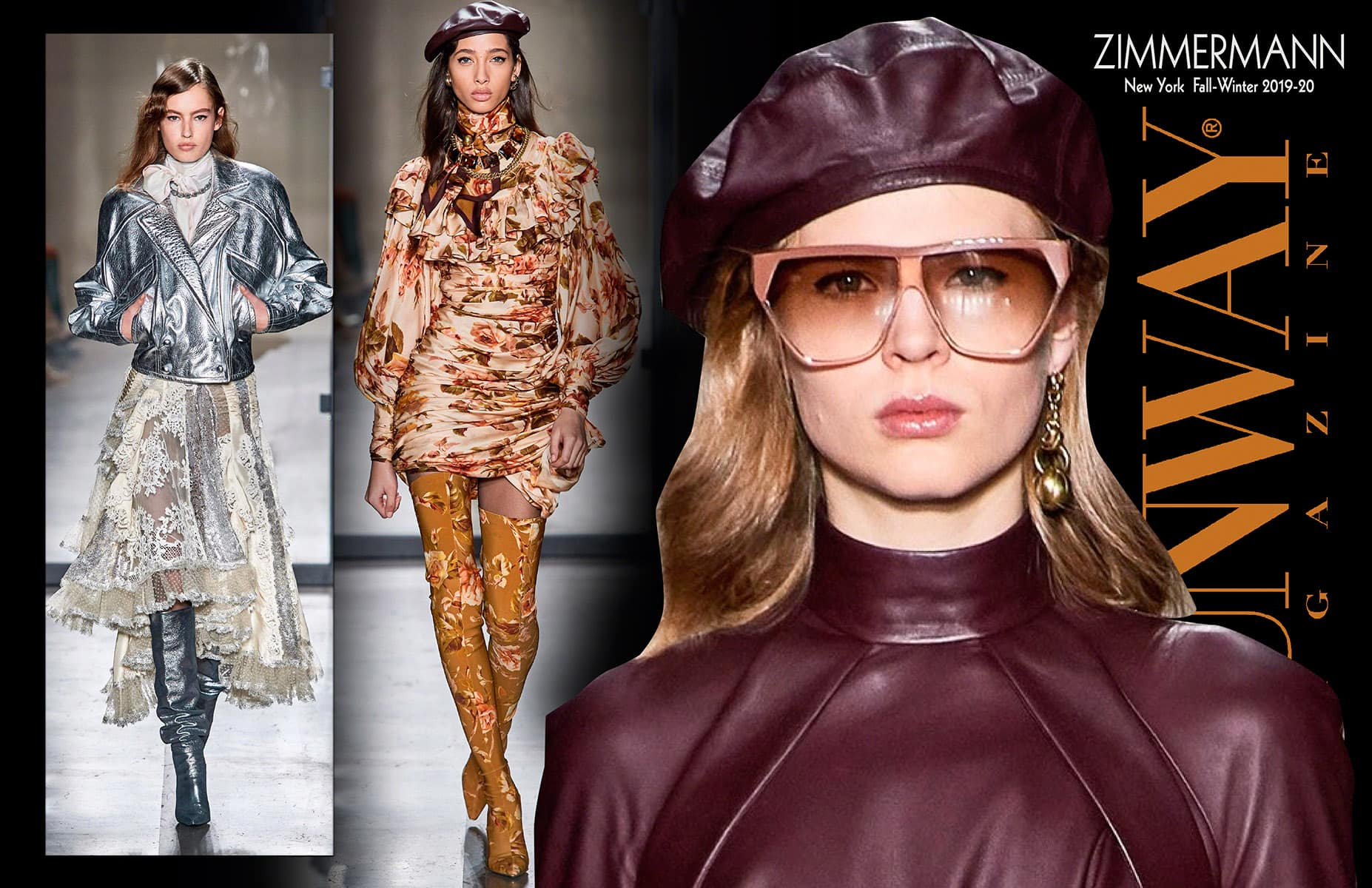 Zimmermann Fall-Winter 2019-2020 New York by RUNWAY MAGAZINE