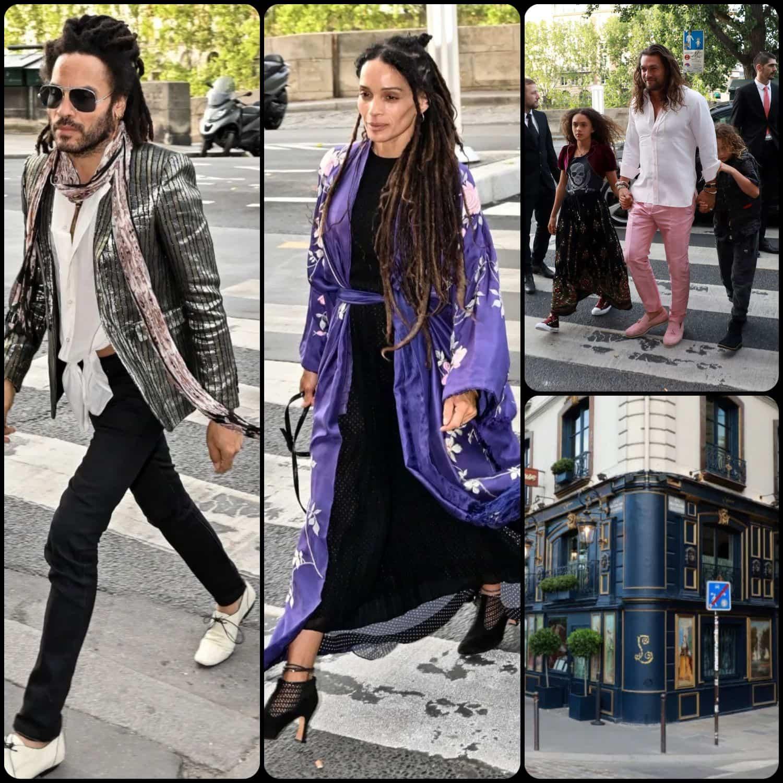 Zoe Kravitz and Karl Glusman married in Paris by RUNWAY MAGAZINE. Lenny Kravits, Lisa Bonet, Jason-Momoa