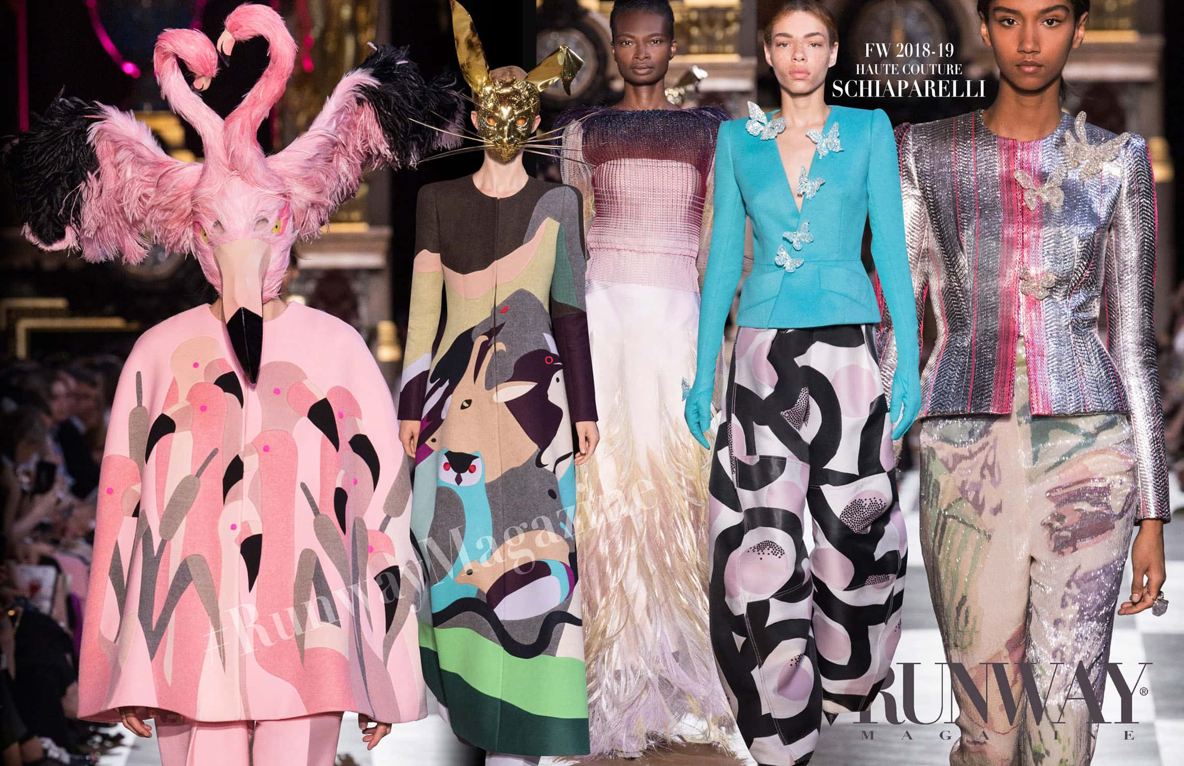 Schiaparelli Haute Couture Fall-Winter 2018-19 by RUNWAY MAGAZINE