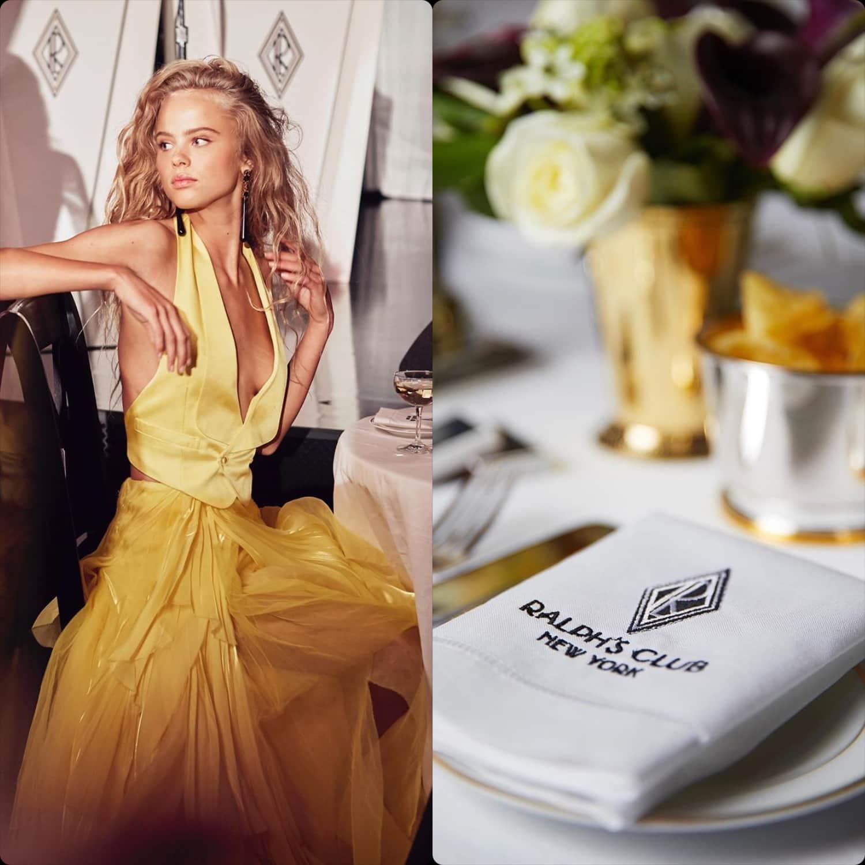 Ralph Lauren Fall-Winter 2019-2020 New York – Ralph's Club Manhattan. RUNWAY MAGAZINE ® Collections