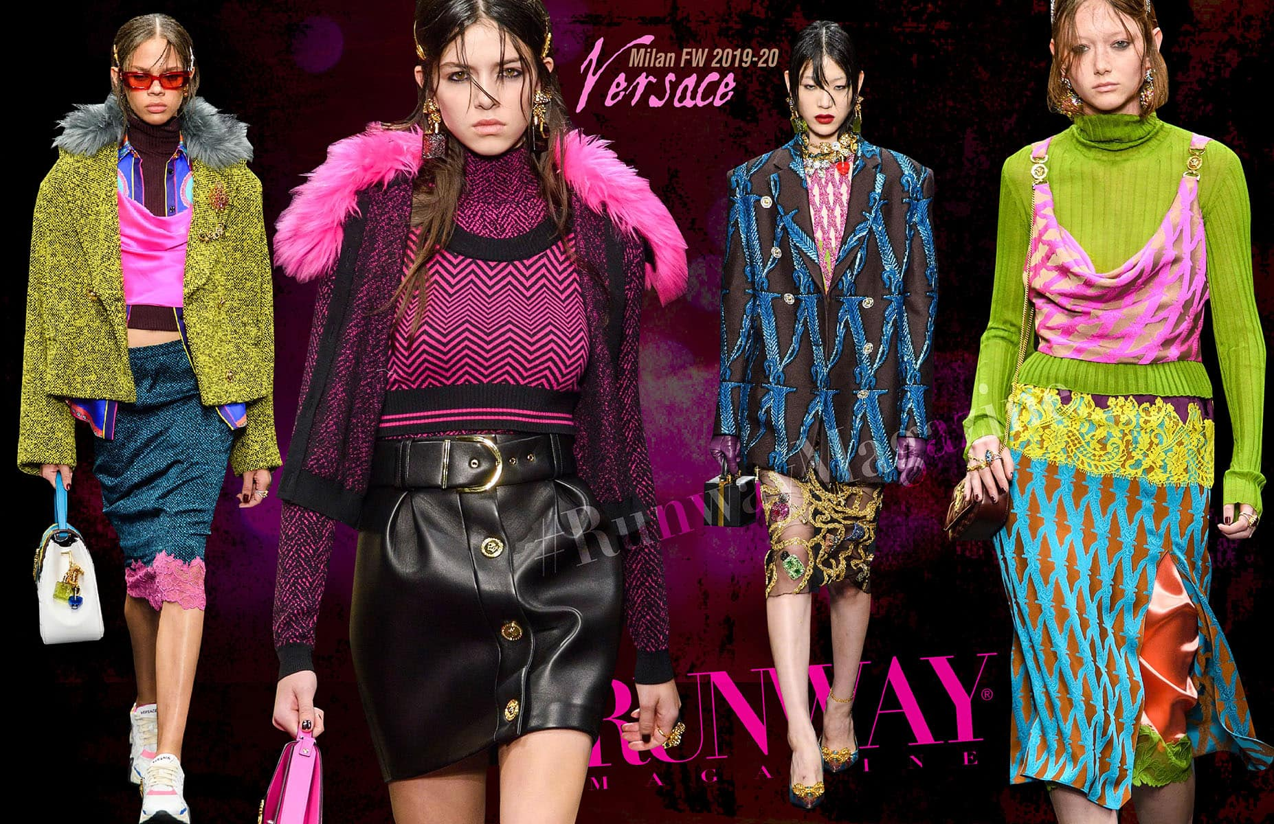 Versace Fall-winter 2019-2020 Milan by RUNWAY MAGAZINE