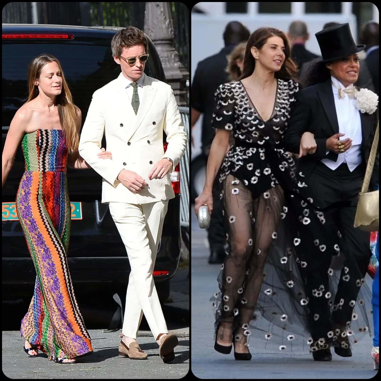 Zoe Kravitz and Karl Glusman married in Paris by RUNWAY MAGAZINE. Hannah Bagshawe and Eddie Redmayne, Marisa Tomei and Cree Summer.