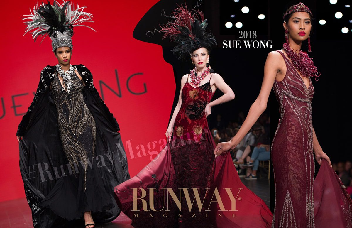 Sue Wong Fall-Winter 2018-19 Los Angeles by RUNWAY MAGAZINE