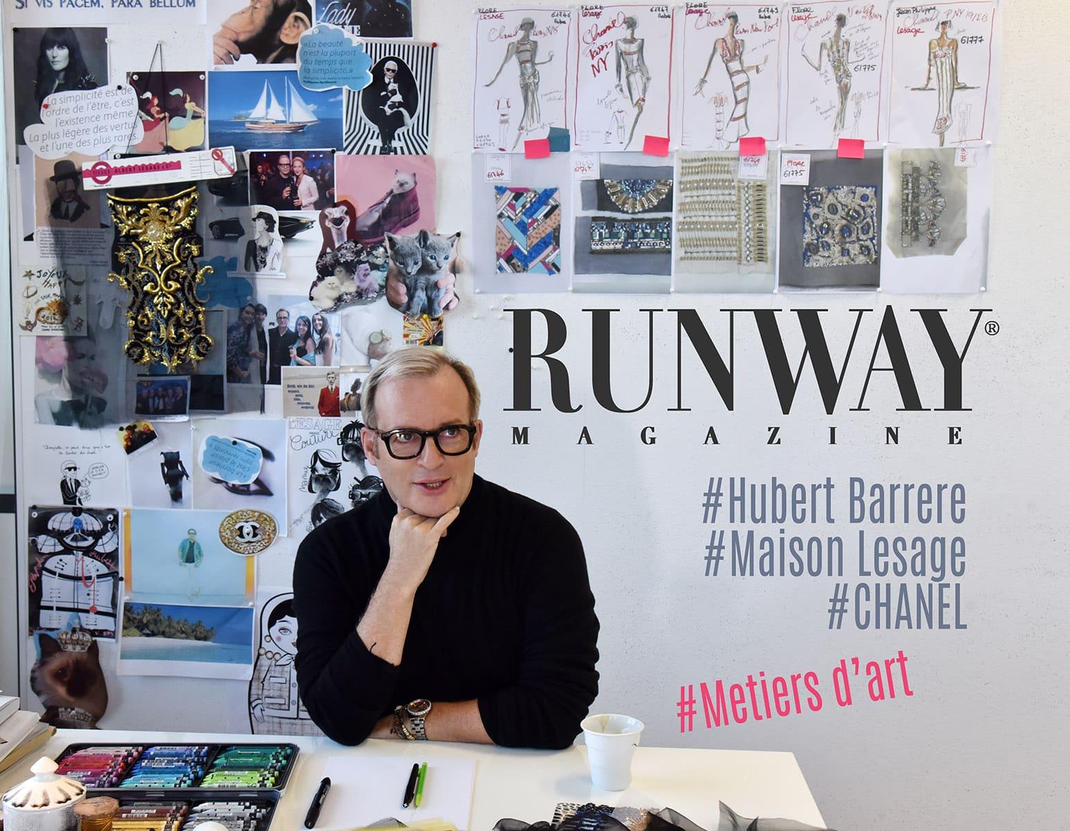 Hubert Barrere Story of Maison Lesage by Ruwnay Magazine