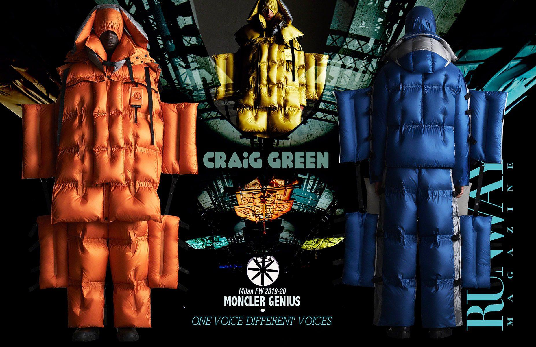 Moncler Genius Fall-Winter 2019-2020 Milan - Designer Craig Green by Runway Magazine