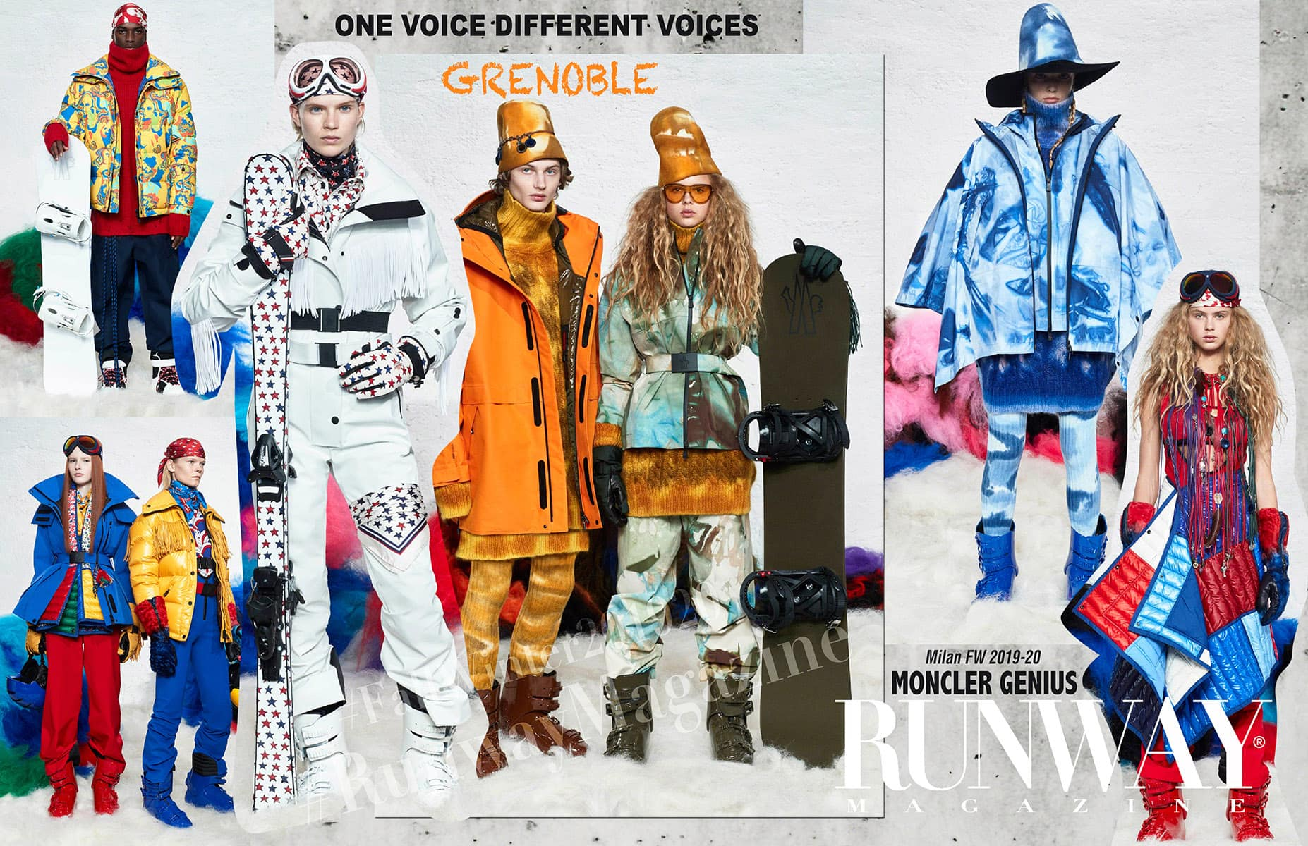 Moncler Genius Fall-Winter 2019-2020 Milan - Designer Grenoble by Runway Magazine