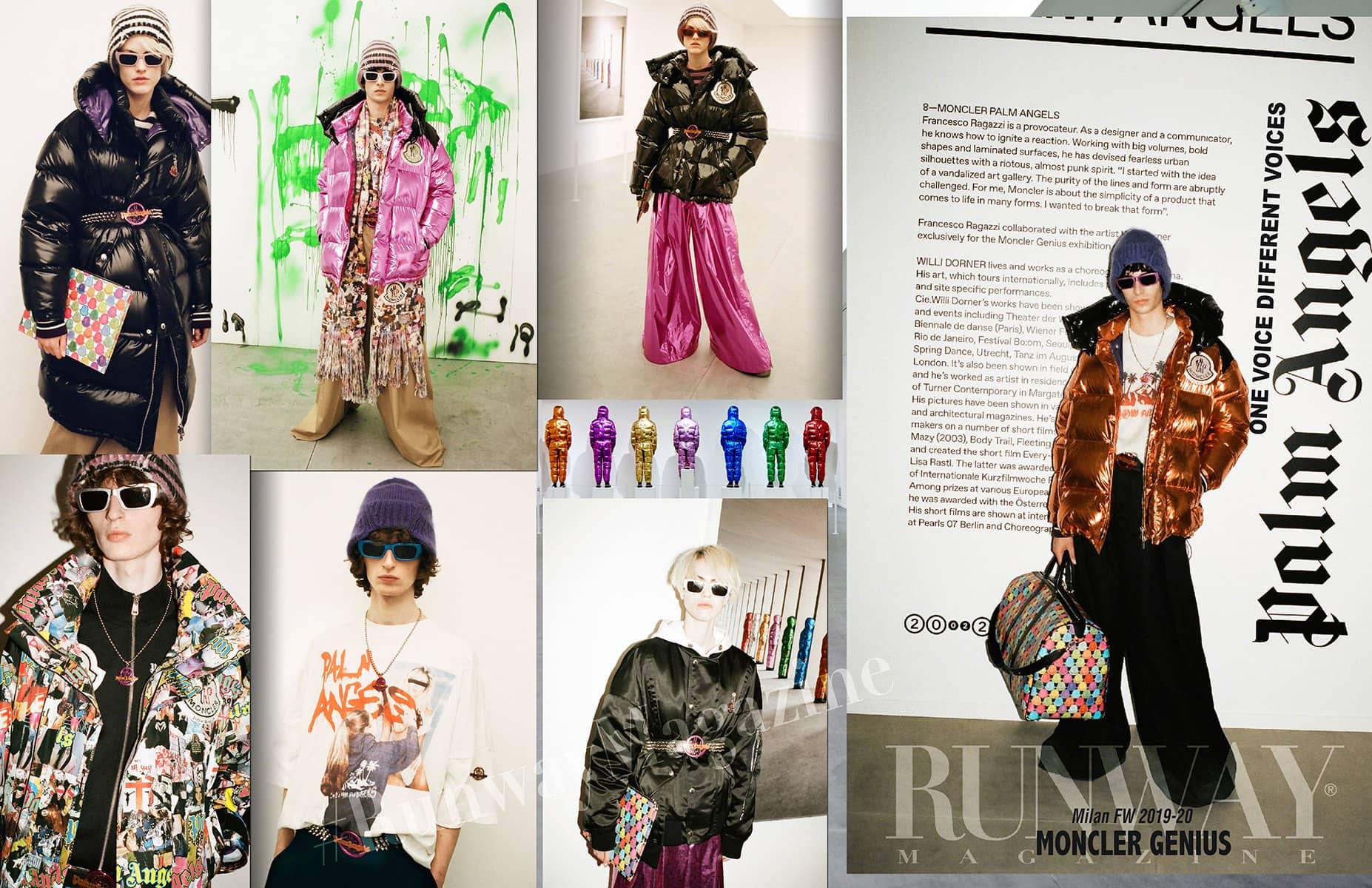 Moncler Genius Fall-Winter 2019-2020 Milan - Designer Palm Angels by Runway Magazine