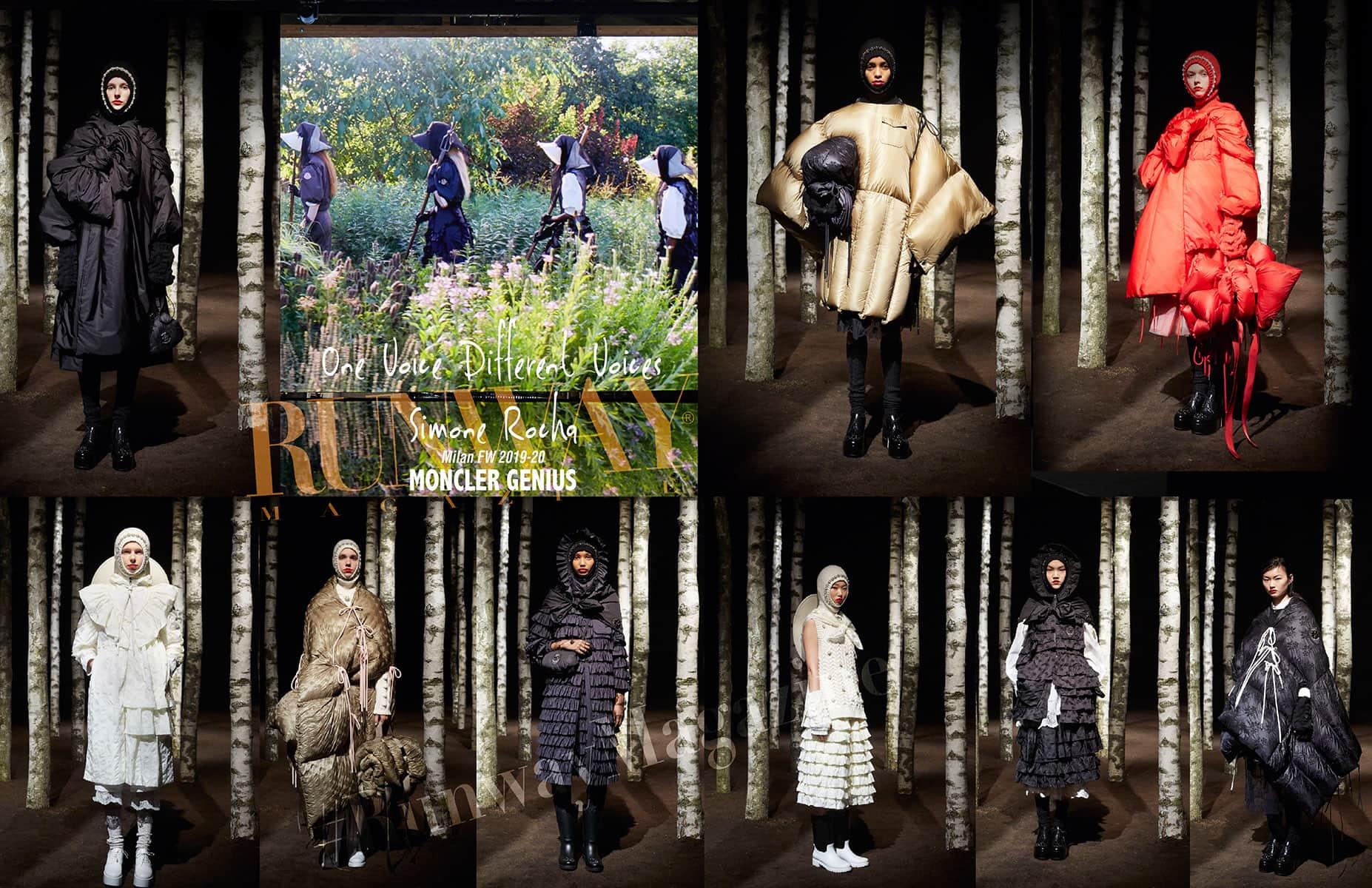 Moncler Genius Fall-Winter 2019-2020 Milan - Designer Simone Rocha by Runway Magazine