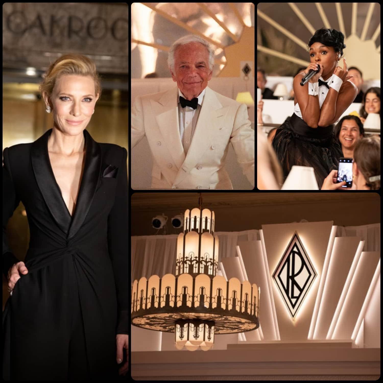 Ralph Lauren Autunno 2019 New York - Cate Blanchett - performance Janelle Monae - RUNWAY RIVISTA Collezioni. Foto: per gentile concessione di Ralph Lauren