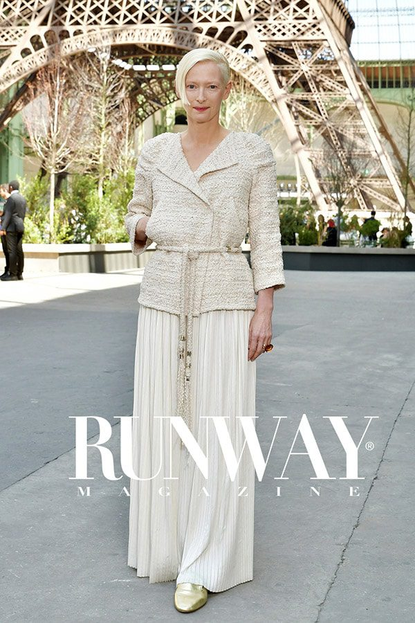 Runway Magazine 2017 Cover Paris Cover - Tilda Swinton