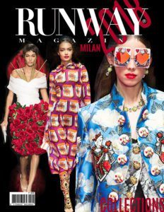 Runway Magazine 2018 Cover Milan Cover