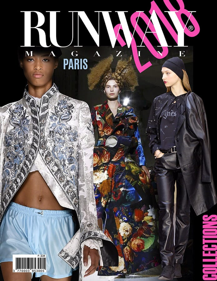 Runway Magazine 2018 Cover Paris Cover
