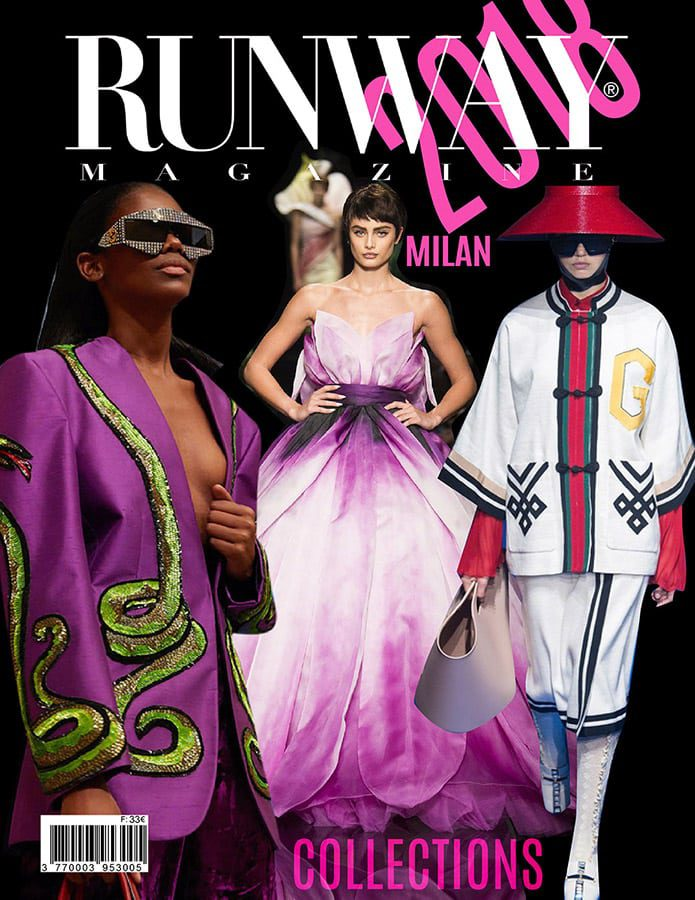 Runway Magazine 2018 Milan Cover