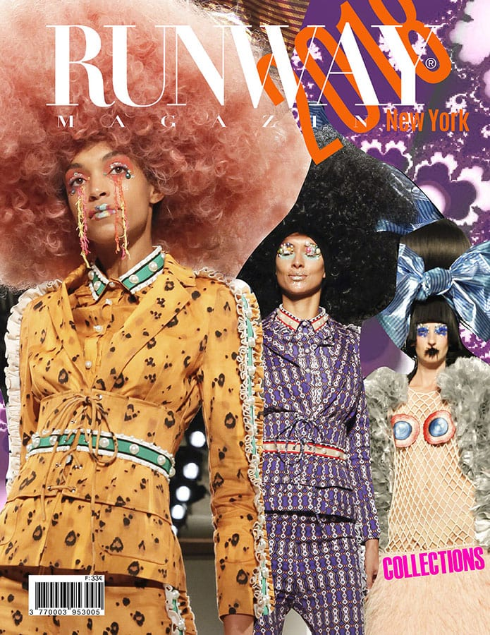 Runway Rivista 2018 New York Cover