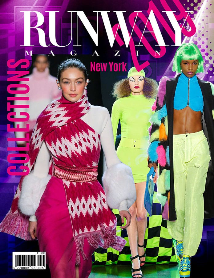 Runway Rivista 2019 New York Cover