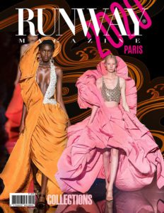 Runway Magazine 2020 Paris Cover