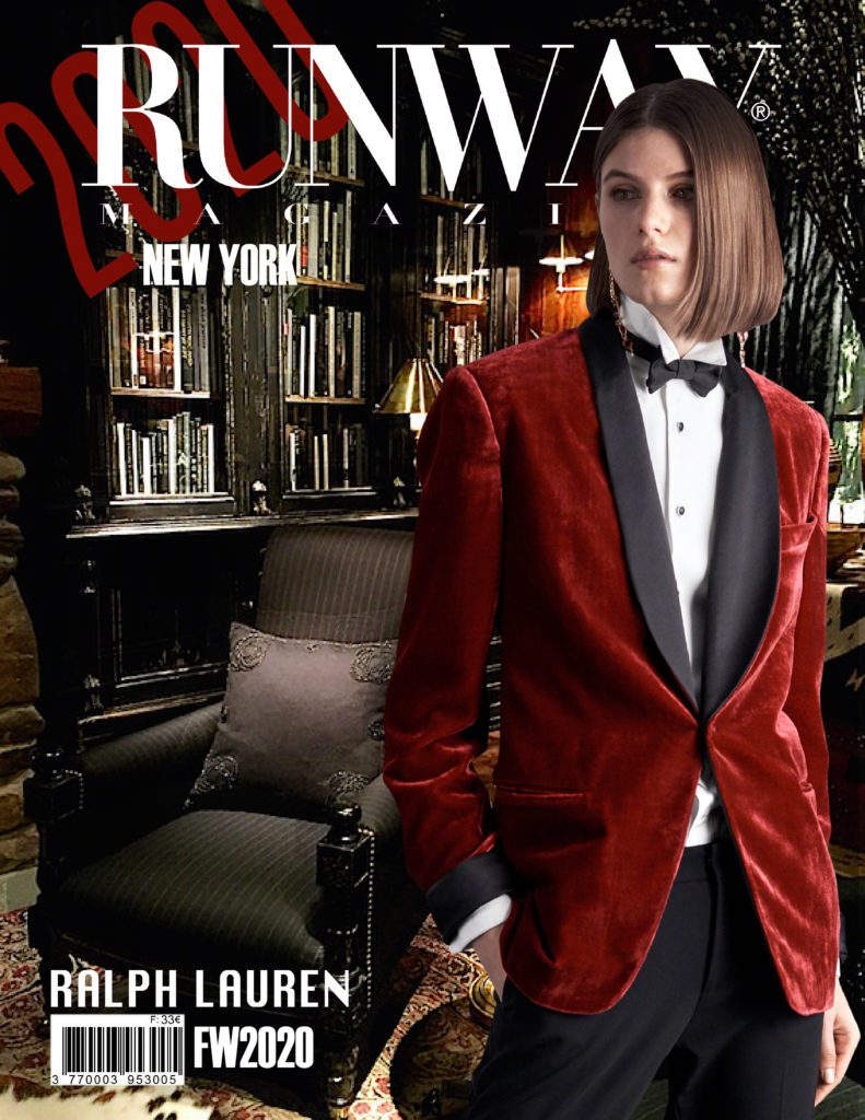 Runway Magazine 2020 Ralph Lauren special Collections