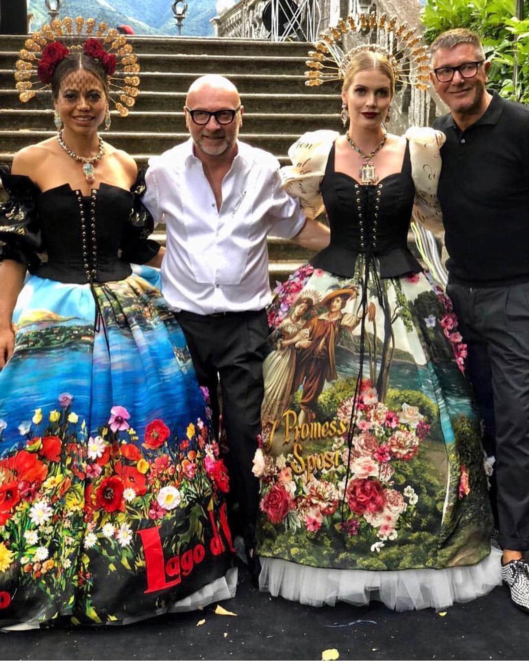 Dolce Gabbana Alta Moda Como - Runway Magazine. Courtesy: Stefano Gabbana