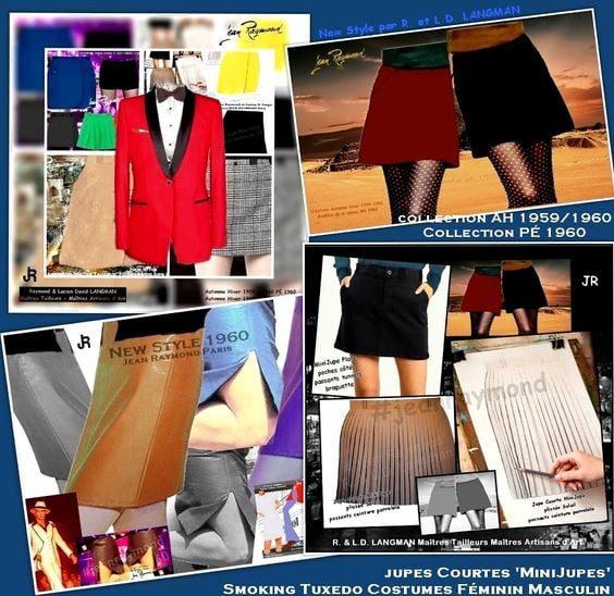 Tailor-JEAN-RAYMOND-1960-miniskirt-tuxedos-by-Runway-Magazine