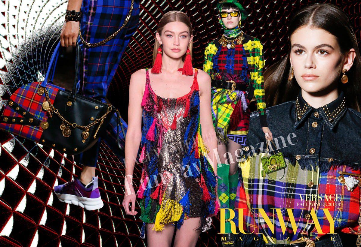 Versace Autunno-Inverno 2018-19 Milano di RUNWAY MAGAZINE