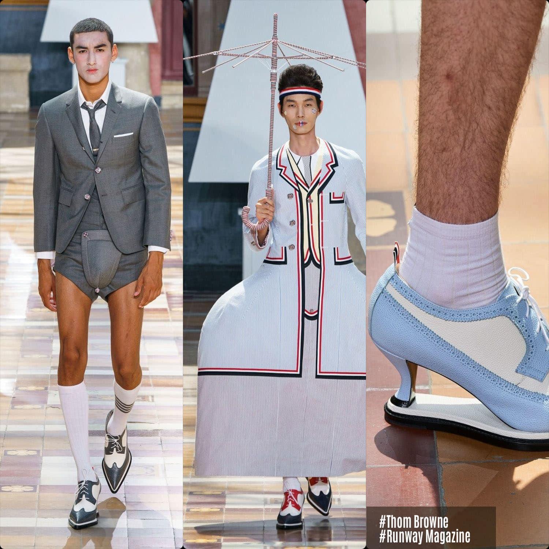 Thom Browne Spring Summer 2020 Menswear Runway Magazine