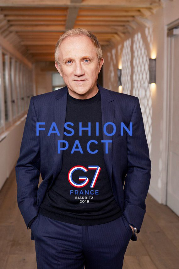 François-Henri Pinault G7 Fashion Pact Biarritz 2019