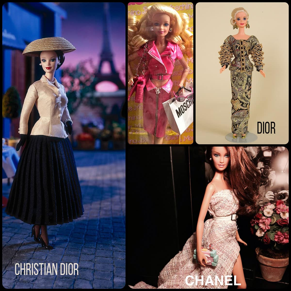 Barbie by Chanel, Dior, Moschino by Runway Magazine