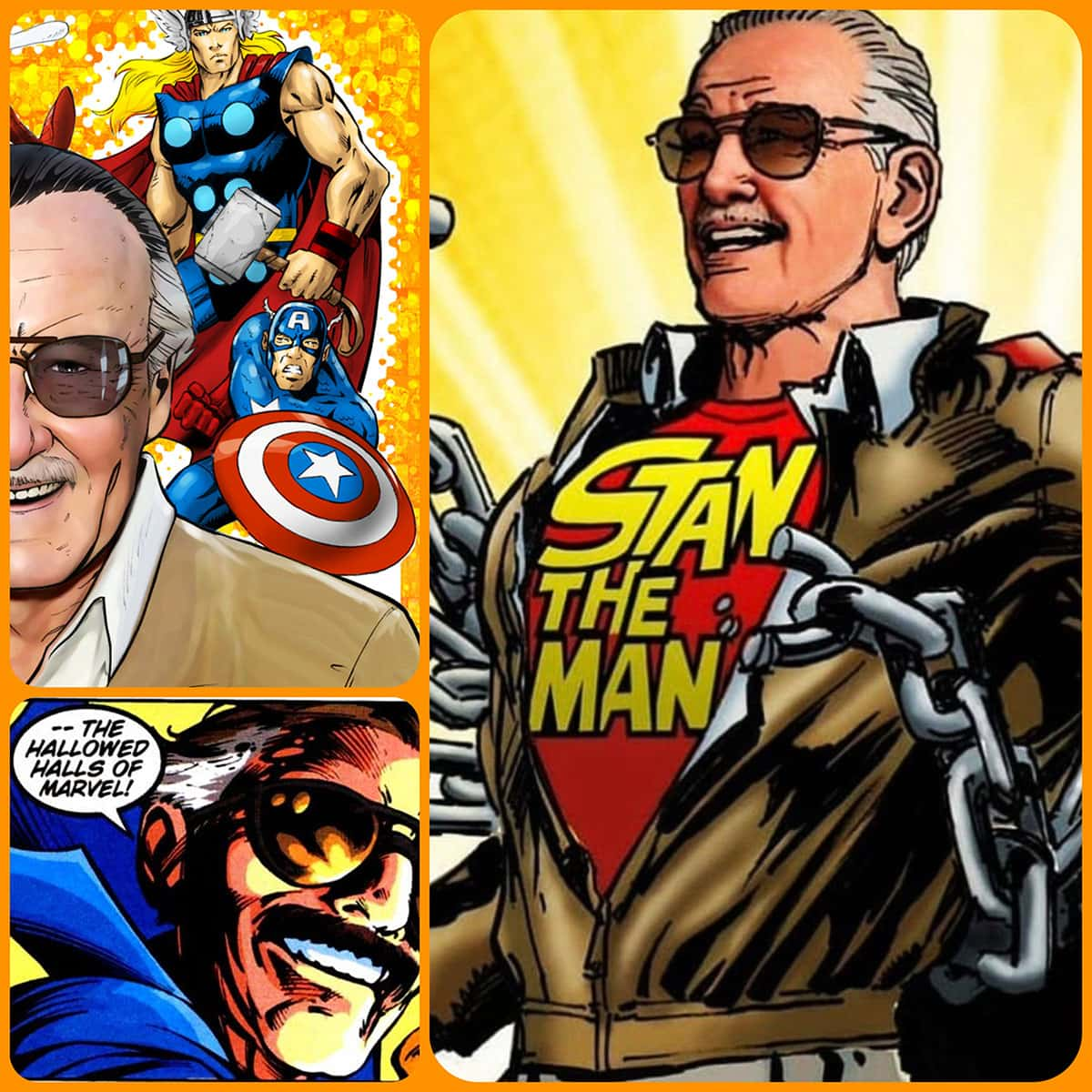Stan Lee Marvel by Runway Magazine