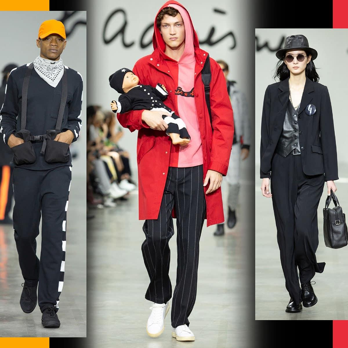 Agnes B Primavera Estate 2020 Paris Fashion Week di RUNWAY MAGAZINE