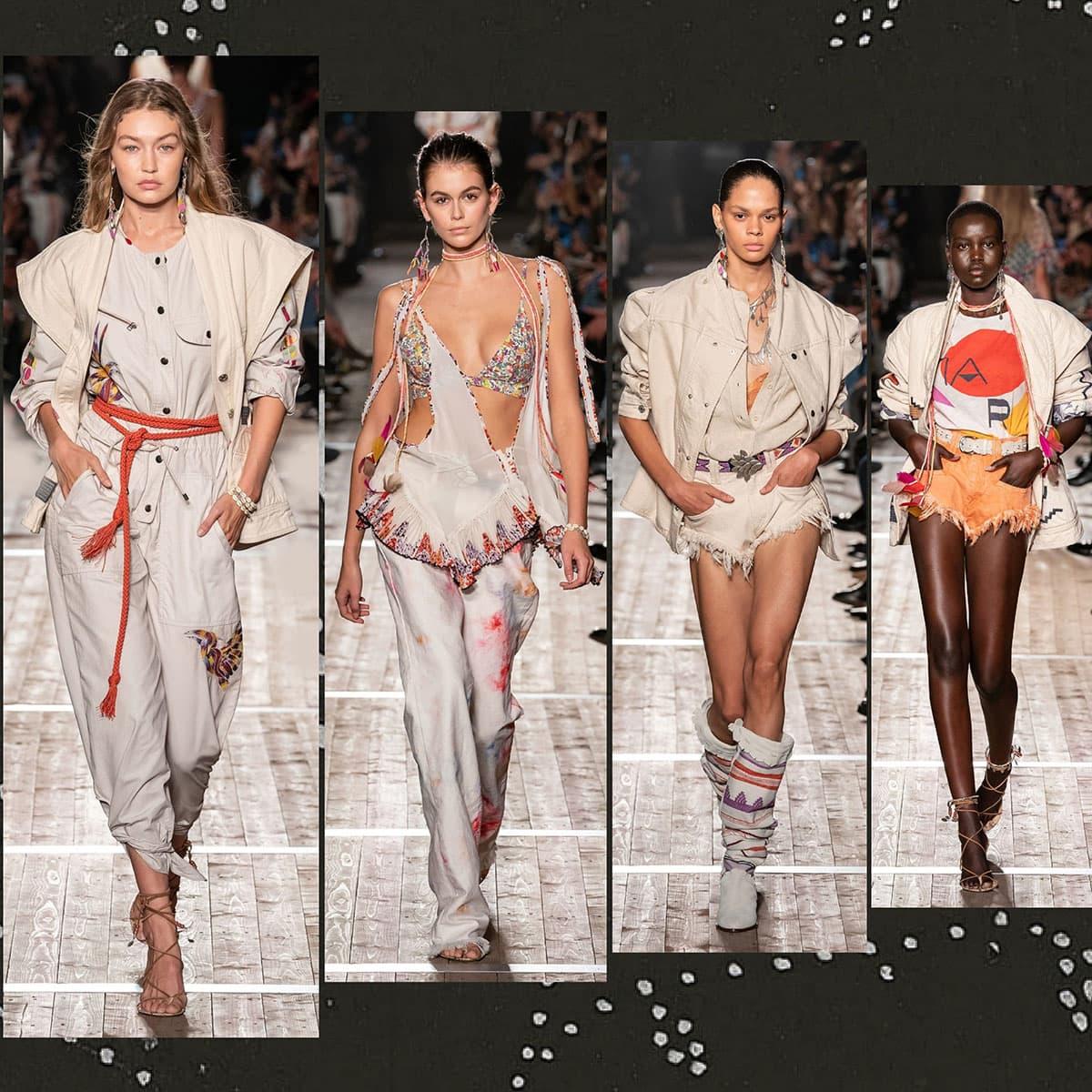 Isabelle Marant Primavera Estate 2020 Paris Fashion Week di RUNWAY MAGAZINE