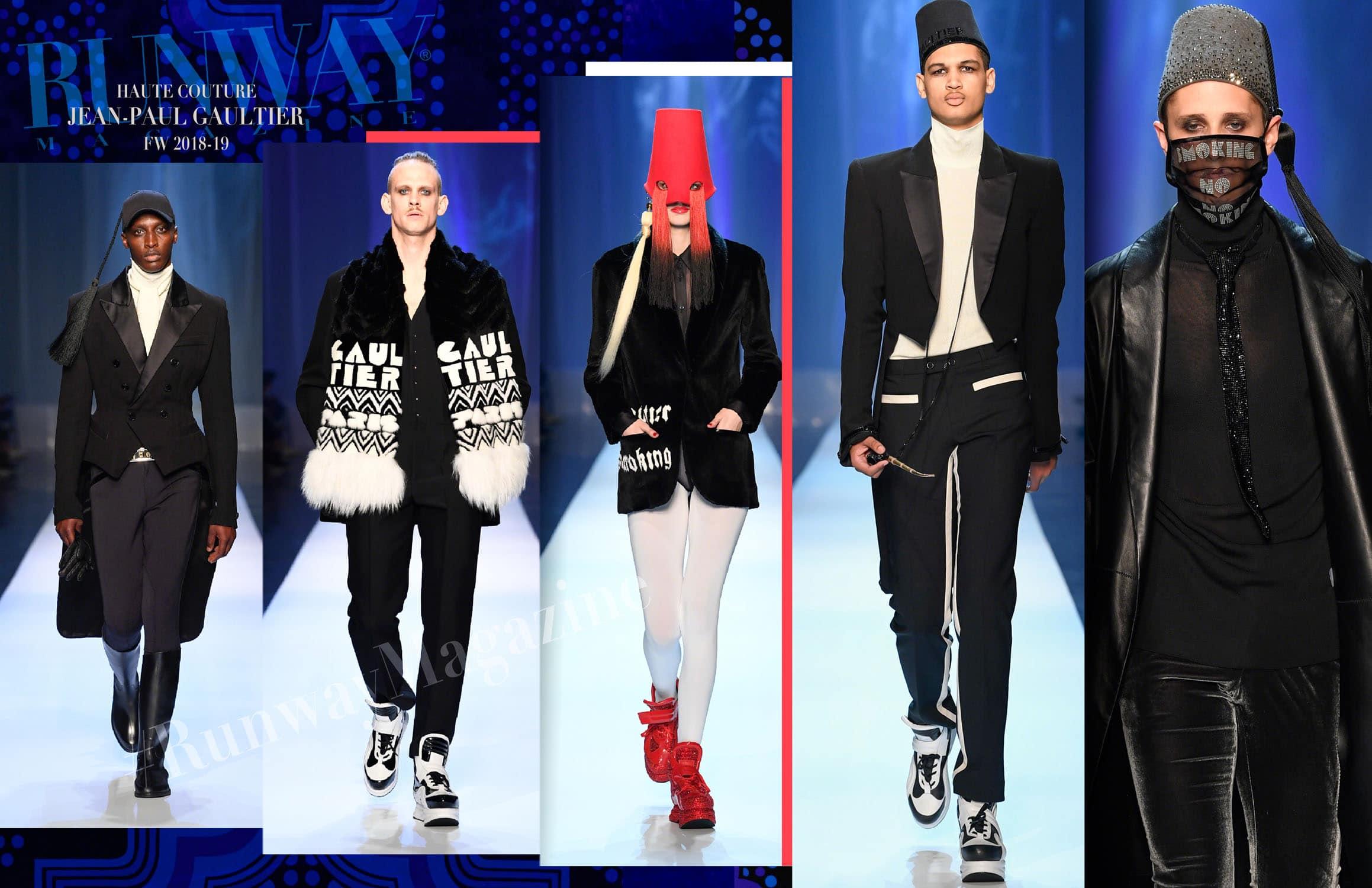 Jean Paul Gaultier Haute Couture Fall-Winter 2018-19 Paris Fashion Week by RUNWAY MAGAZINE