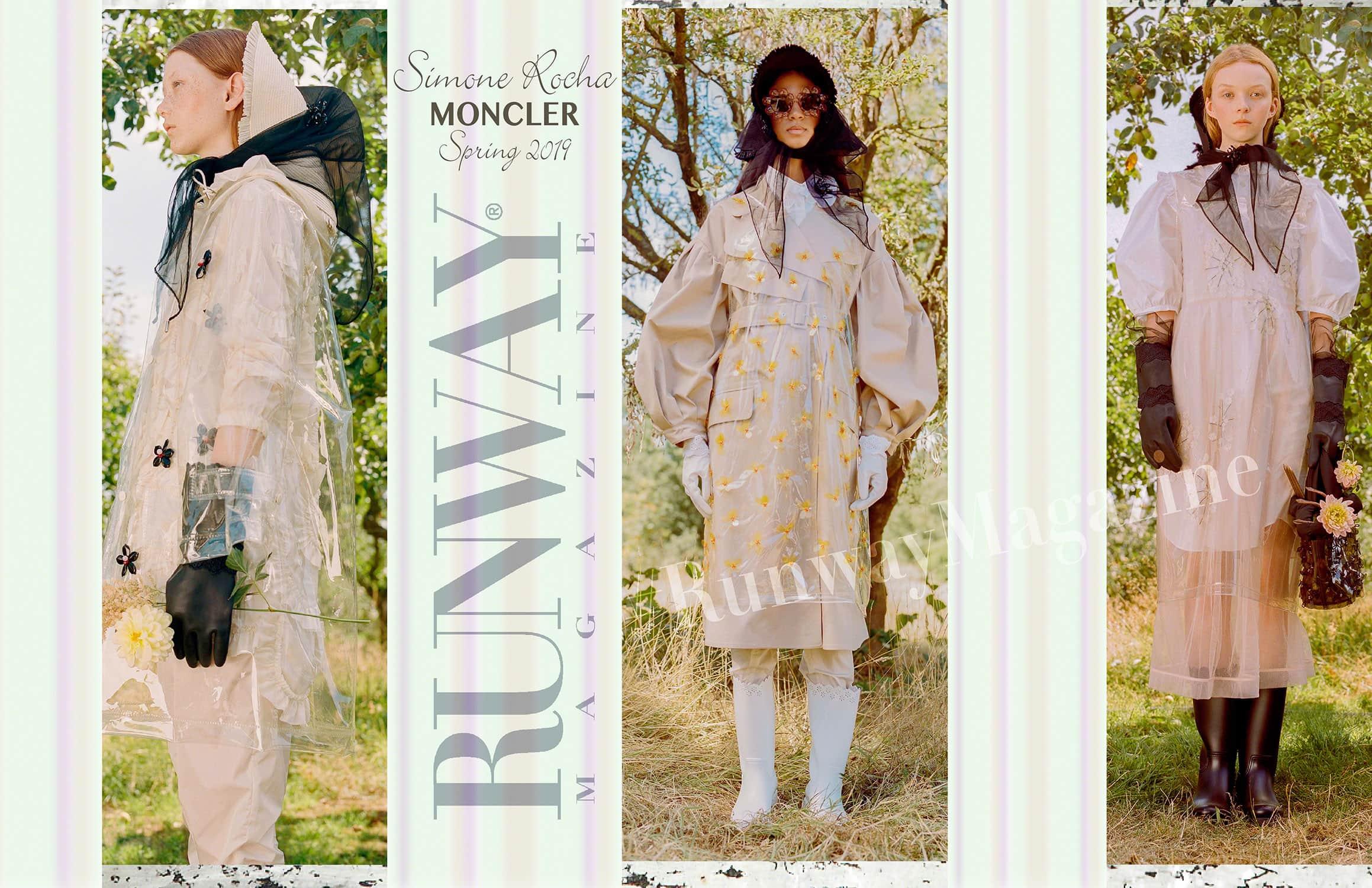 Moncler -Simone Rocha- Spring Summer 2019 Milan by RUNWAY MAGAZINE