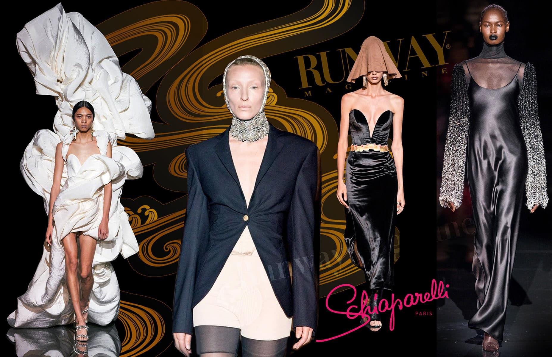 Schiaparelli Haute Couture Fall-Winter 2019-2020 Paris Fashion Week by RUNWAY MAGAZINE